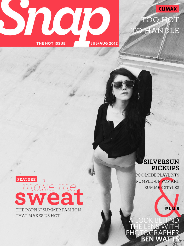 The Hot Issue – Snap Magazine